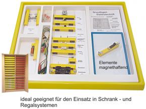 Elektrobaukasten 1 - einfache Grundlagen - im Kunststoffkasten