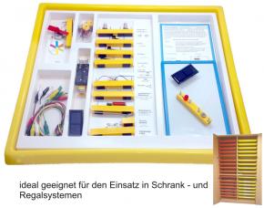 Elektrobaukasten 1.1 - Grundlagen und Solartechnik - im Kunststoff-Einschub
