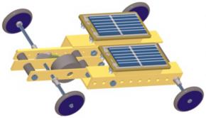 Bausatz Solarfahrzeug (mit 2 Solarzellen in Reihenschaltung)