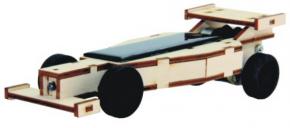 Bausatz Solarfahrzeug mit Akku - Ladung