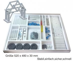 Einfacher Modellbau - technische Objekte - im Karton mit Deckel