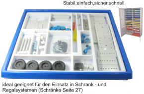 Einfacher Modellbau - technische Objekte - im Kunststoff-Einschub