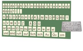 Lehrerkarten Deutsch